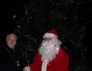 Father Christmas look-a-like