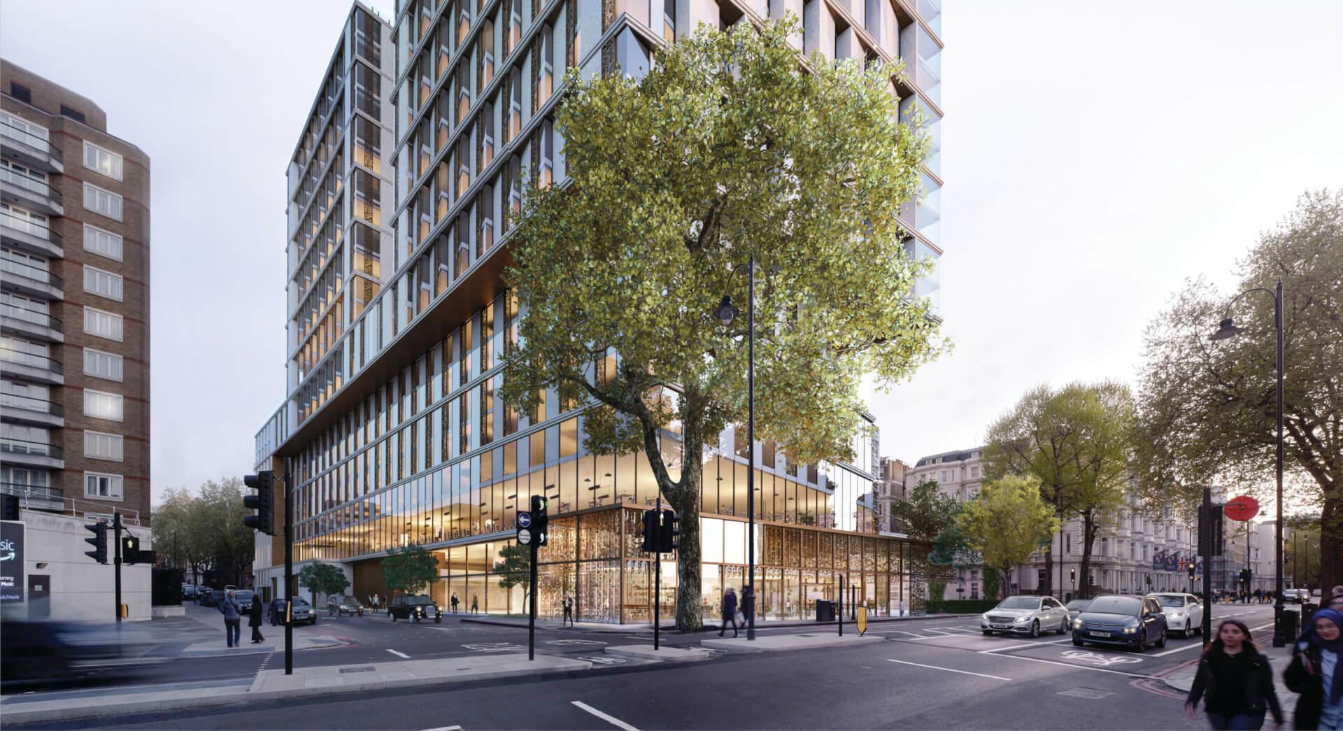 Cratus London win - City Hall approves Kensington Forum redevelopment 1