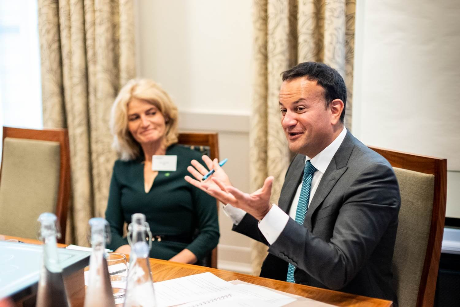 Irish Deputy Prime Minister, Leo Varadkar TD, highlights the role of Irish businesses in helping councils Build Back Better 1